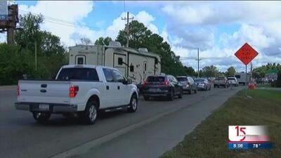 Residentes de Wilmington se preparan para la llegada del huracán Florence a Carolina del Norte