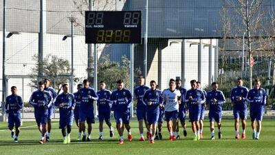 Guido Rodríguez, Marchesín y Messi ya entrenan con Argentina