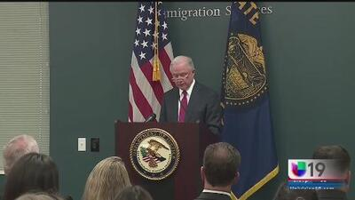 Jeff Sessions visitará Sacrameto