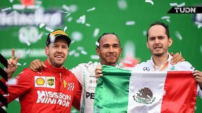 """Vettel califica el trofeo del GP de México como """"una mier$%&"""""""
