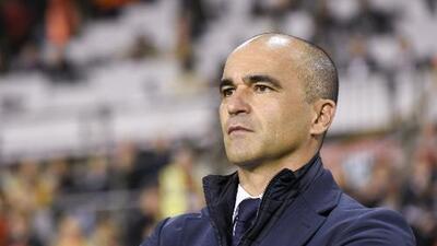 Roberto Martínez hizo un 'regate' a la prensa que preguntó sobre su posible llegada la Real Madrid