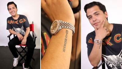 Un reloj de 5 mil dólares, lo primero que se compró Christian Nodal con sus ingresos