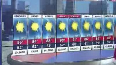Cielos despejados y temperaturas agradables para este miércoles en la Bahía