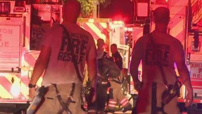 Varias mascotas mueren durante un incendio en una vivienda de Arlington