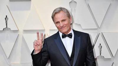 Viggo Mortensen muestró su amor a San Lorenzo en los Oscars