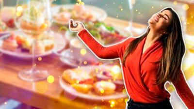 Clarissa Molina está en España y, al igual que Raúl, se ha dado sus 'gustitos' de comida