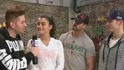 El Dasa, Chyno y Pedro le roban el micrófono a Clarissa y se adueñan del en vivo (cambio de roles)