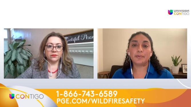 PG&E nos habla sobre la temporada de incendios forestales