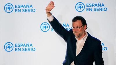 Declaración electoral: Mariano Rajoy
