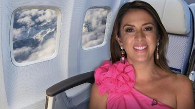 Cómo sentirte de lujo volando en clase económica con estos tips de Maity Interiano
