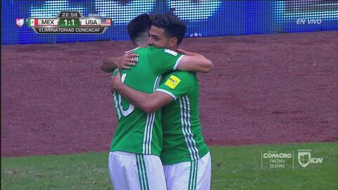 El golazo de Carlos Vela encendió el Azteca