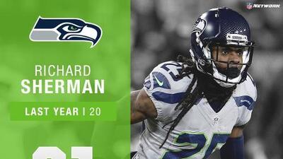 #21: Richard Sherman (CB, Seahawks) | Top 100 Jugadores 2017