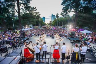 Así se celebró El grito de Independencia de México en Sacramento (fotos)