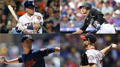 ¿Quiénes son los mejores peloteros y lanzadores hasta el momento en la MLB?