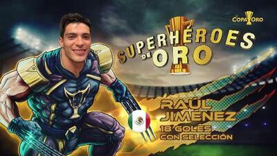 Superhéroes de Oro: Jiménez pone el 2-0 con un tiro salvaje