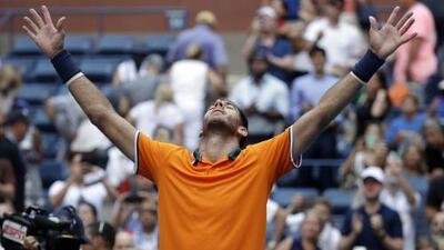 Del Potro gana el duelo de las torres ante John Isner y va a Semifinales del US Open