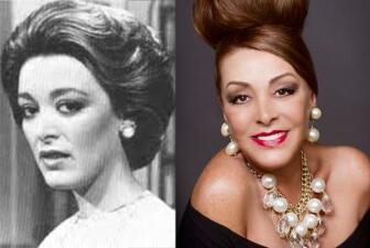 Sylvia Pasquel ayer y hoy