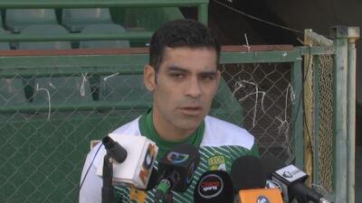 Rafa Márquez: 'El empate fue consecuencia de nuestros propios errores'