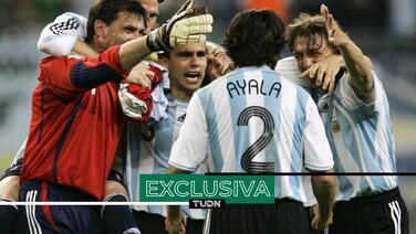 """Ayala: """"La pasamos muy mal con México en el Mundial de 2006"""""""