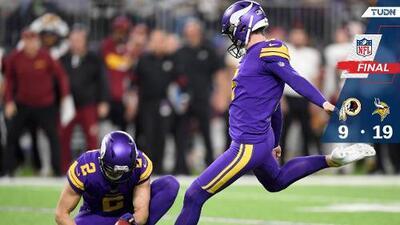 Vikings hunde más a los Redskins