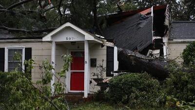 Cientos de personas continúan siendo evacuadas en Carolina del Norte por el riesgo de inundaciones