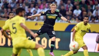 B. Mönchengladbach 1-1 Villarreal: Empate en visita a Alemania con Jonathan dos Santos