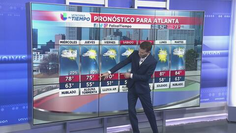 La nubosidad comenzará a verse este miércoles y anticipa lo que pasará el fin de semana