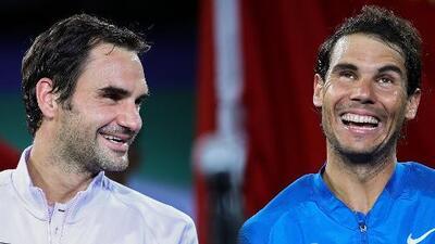 ¡Estadísticas! Roger Federer y Rafael Nadal se alistan para su enfrentamiento 39