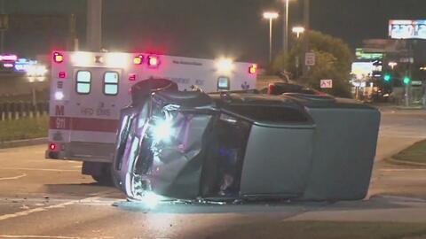 Fatal accidente en una carretera del condado de Harris cobra la vida de una mujer