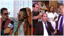 Reportero de El Gordo y La Flaca es rapado en vivo al perder una apuesta contra Mau & Ricky