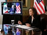 AMLO se muestra conciliador con Harris horas después de haber acusado a EEUU de intervencionista