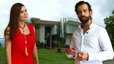 Diego de Erice llevó a Karina Banda por un recorrido exclusivo en la casa de 'Inseparables'