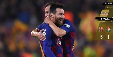 El Barcelona derrotó al Valladolid y se ratifica como lider