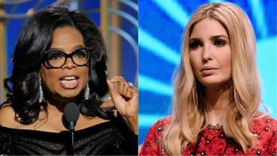 Ivanka Trump elogió el mensaje de Oprah en los Globos de Oro y le llovieron críticas en las redes