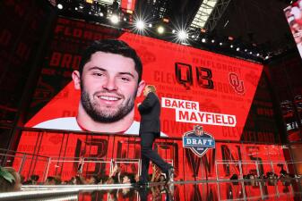 En fotos: el espectacular debut de Baker Mayfield con los Cleveland Browns, y ganaron