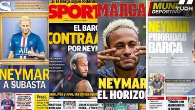Neymar reaviva la llama del Barça y Madrid