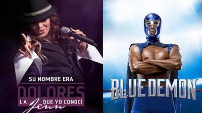Dos grandes leyendas en una misma noche, llegan 'Su Nombre Era Dolores' y 'Blue Demon' a Univision y UniMás
