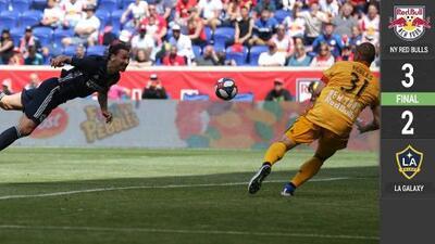 Galaxy desperdició el gran partido de Zlatan y cayó ante NY Red Bulls