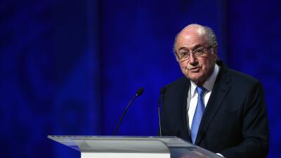 Joseph Blatter: ''No hay corrupción en el fútbol''