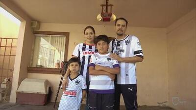 La familia Martínez y su pasión por los Rayados