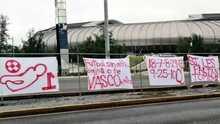 Aparecen mensajes amenazantes contra  Hugo González y Javier Aguirre