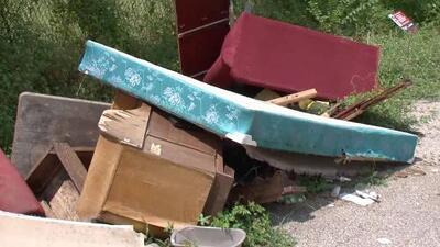 Buscan dar solución a la práctica de tirar basura ilegalmente en las calles de Houston