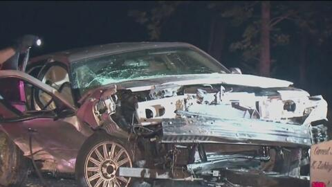 Dos adultos y un niño resultaron heridos tras un violento accidente de tránsito