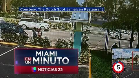'Miami en un Minuto': un muerto y nueve heridos en un accidente de tránsito en Lauderhill