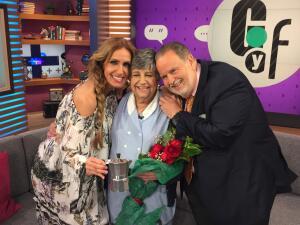 Martica 'la del café' cumple 29 años en Univision y así lo festejamos