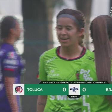 Resumen   Toluca Femenil y FC Juárez salen sin puntería y empatan 0-0