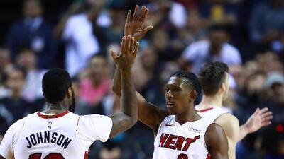 México le da suerte al Miami Heat quien rompe la mala racha ganándole a los Nets