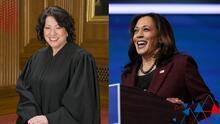 """""""Haciendo historia"""": La primera jueza latina en el Tribunal Supremo juramentará a Kamala Harris como vicepresidenta"""