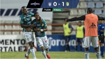 Resumen   Pachuca 0-1 León   La Fiera aún sufre en la definición, pero gana de visitante