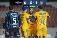 Con agónico gol, Tigres rompe racha de cinco juegos sin ganar
